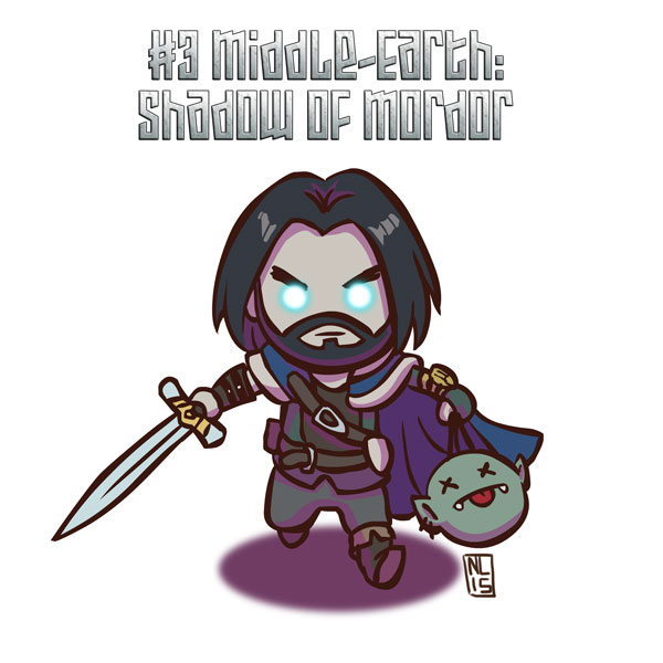 #3 Middle-earth: Shadow Of Mordor