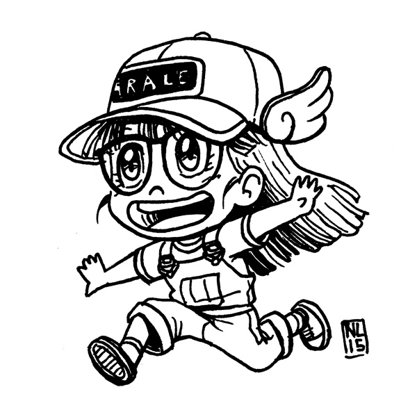 Day 12: Arale