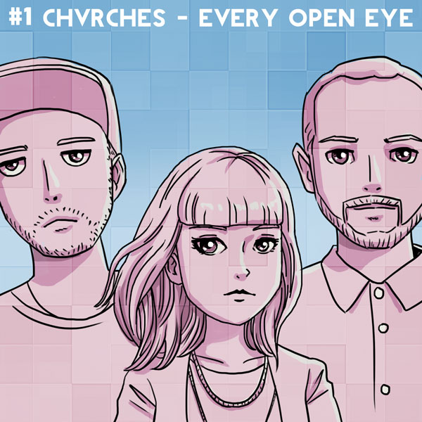 #1 Chvrches – Every Open Eye
