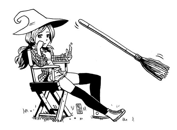 Day 16: Teenage Witch