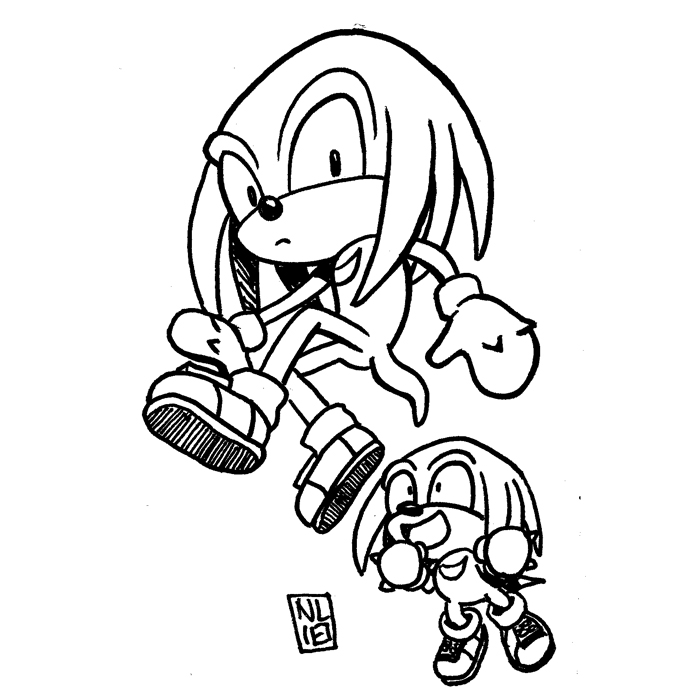 Day 18: Knuckles & Knuckles