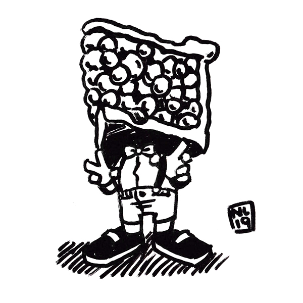 Inktober Day 31: Pie Guy